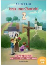 Jezus - nasz Zbawiciel. Ćwiczenia - okładka podręcznika