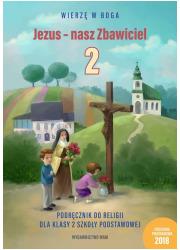 Jezus - nasz Zbawiciel. Podręcznik - okładka podręcznika