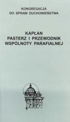 Kapłan. Pasterz i przewodnik wspólnoty - okładka książki