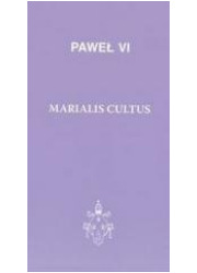 Marialis cultus - okładka książki