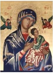 Obraz z modlitwą do Matki Bożej - zdjęcie dewocjonaliów