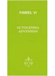 Octogesima Adveniens - okładka książki