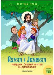 Razem z Jezusem. Podręcznik i ćwiczenia - okładka podręcznika