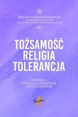 Tożsamość, religia, tolerancja - okładka książki