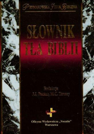 Słownik tła Biblii - okładka książki