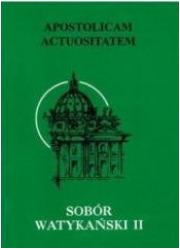 Apostolicam actuositatem - okładka książki