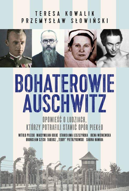 Bohaterowie Auschwitz - okładka książki