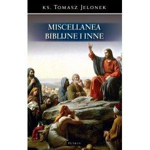 Miscellanea biblijne i inne - okładka książki