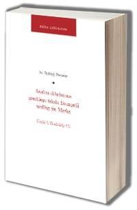 Analiza składniowa greckiego tekstu - okładka książki