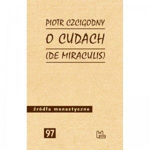 O cudach (De miraculis). Seria: - okładka książki