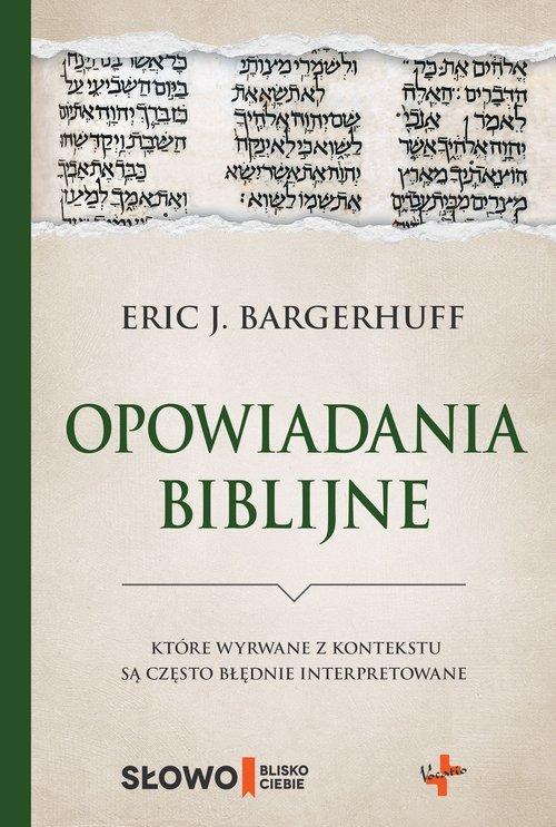 Opowiadania biblijne które wyrwane - okładka książki