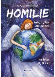 Homilie (nie) tylko dla dzieci - okładka książki