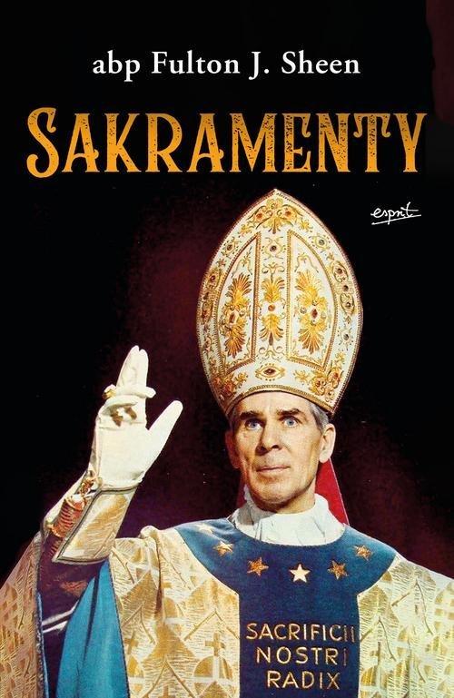 Sakramenty - okładka książki