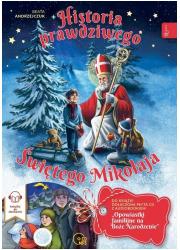 Historia Prawdziwego świętego Mikołaja - okładka książki