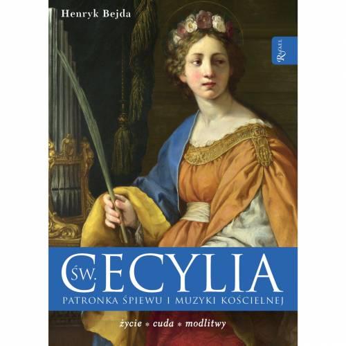 Św. Cecylia. Patronka śpiewu i - okładka książki