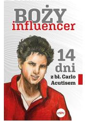 Boży influencer. 14 dni z bł. Carlo - okładka książki