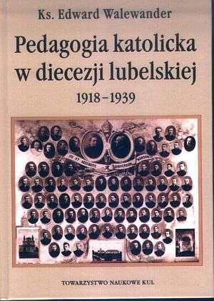 Pedagogia katolicka w diecezji - okładka książki