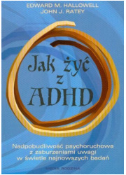 Jak żyć z ADHD - okładka książki