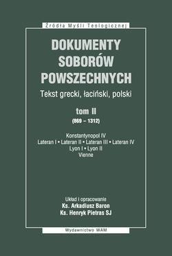 Dokumenty soborów powszechnych. - okładka książki