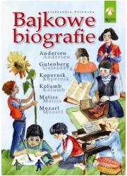 Bajkowe biografie - okładka książki