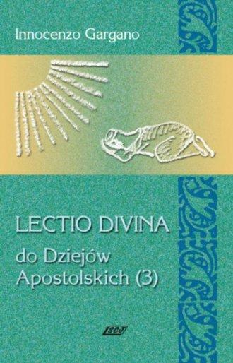 Lectio divina do Dziejów Apostolskich - okładka książki
