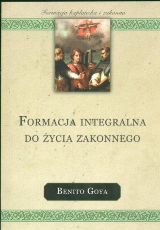 Formacja integralna do życia zakonnego. - okładka książki