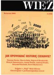 Więź nr 4/2004. Kwiecień - okładka książki
