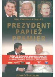 Prezydent, papież, premier. Oni - okładka książki