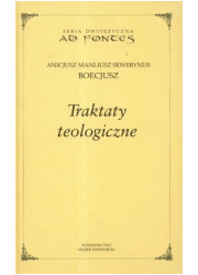 Traktaty teologiczne (oprawa kremowa) - okładka książki