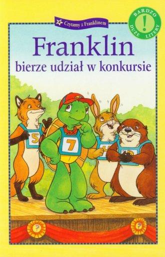 Franklin bierze udział w konkursie - okładka książki