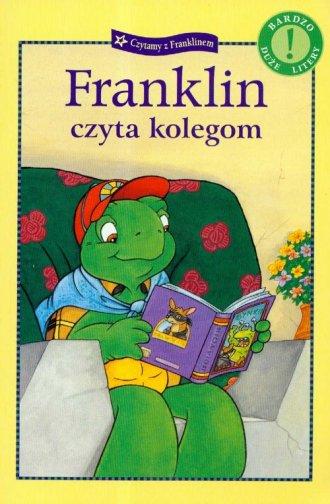 Franklin czyta kolegom - okładka książki