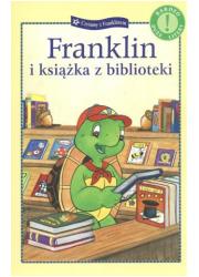 Franklin i książka z biblioteki - okładka książki