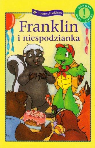 Franklin i niespodzianka - okładka książki
