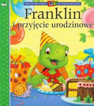 Franklin i przyjęcie urodzinowe - okładka książki