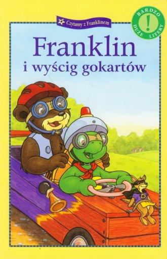 Franklin i wyścig gokartów - okładka książki