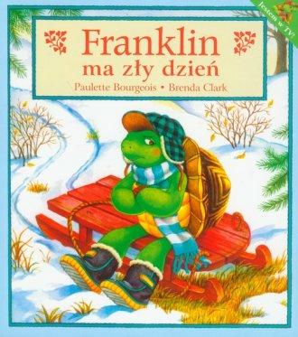 Franklin ma zły dzień - okładka książki
