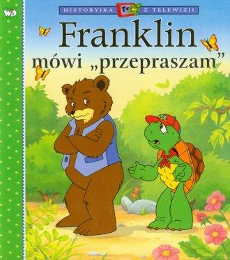 Franklin mówi przepraszam - okładka książki