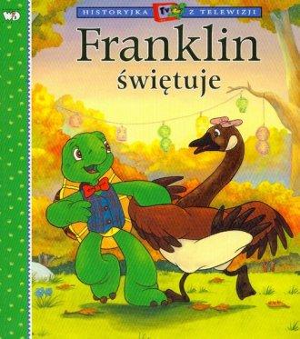 Franklin świętuje - okładka książki