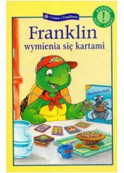 Franklin wymienia się kartami - okładka książki