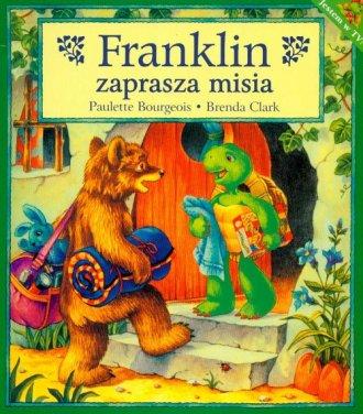 Franklin zaprasza misia - okładka książki