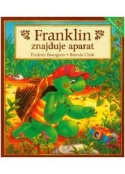 Franklin znajduje aparat - okładka książki