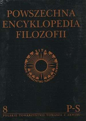 Powszechna Encyklopedia Filozofii. - okładka książki