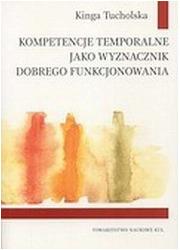 Kompetencje temporalne jako wyznacznik - okładka książki