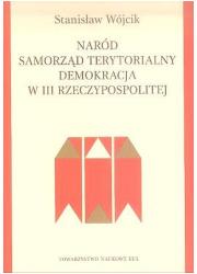Naród, samorząd terytorialny, demokracja - okładka książki