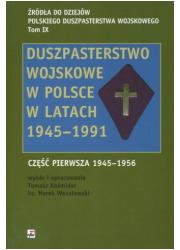 Duszpasterstwo wojskowe w Polsce - okładka książki
