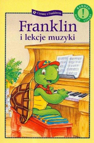 Franklin i lekcje muzyki - okładka książki