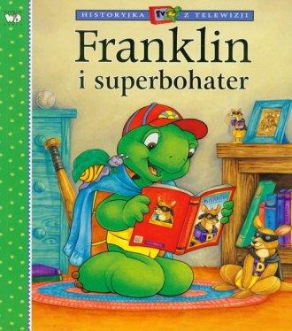 Franklin i superbohater - okładka książki