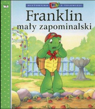 Franklin mały zapominalski - okładka książki