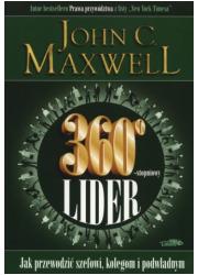 360-stopniowy lider - okładka książki