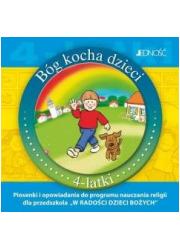 Bóg kocha dzieci. 4-latki (CD) - okładka płyty